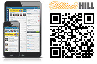 Reload to see the William Hill app's QR code